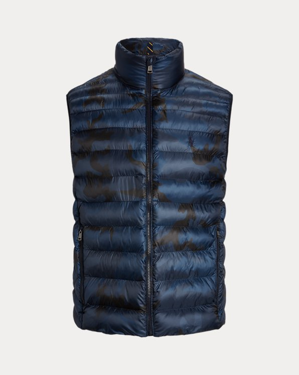 Camo Packable Gilet