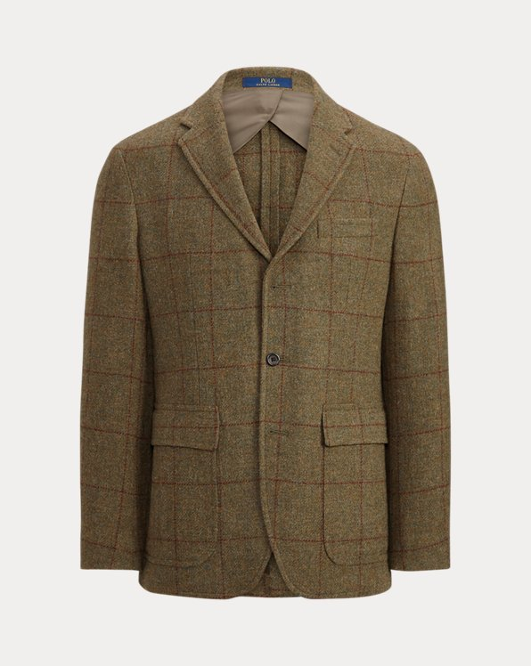 Polo Soft Checked Wool Sport Coat