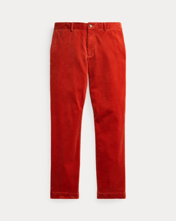 Stretch Straight Corduroy Trouser