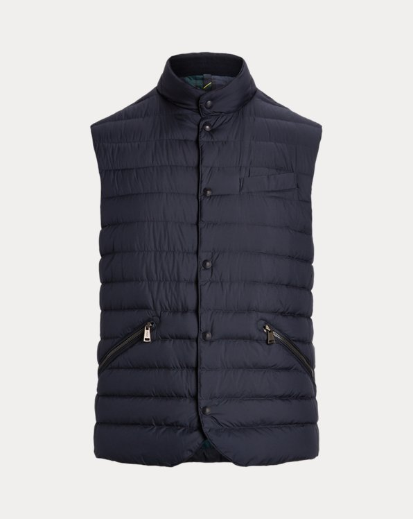 Gilet piumino resistente all'acqua