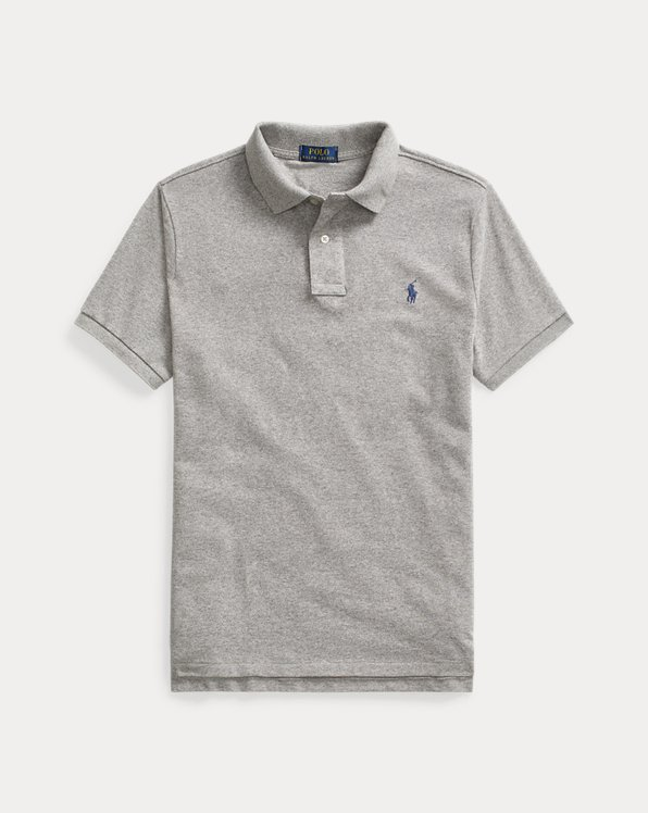 Polo in piqué Custom Slim-Fit