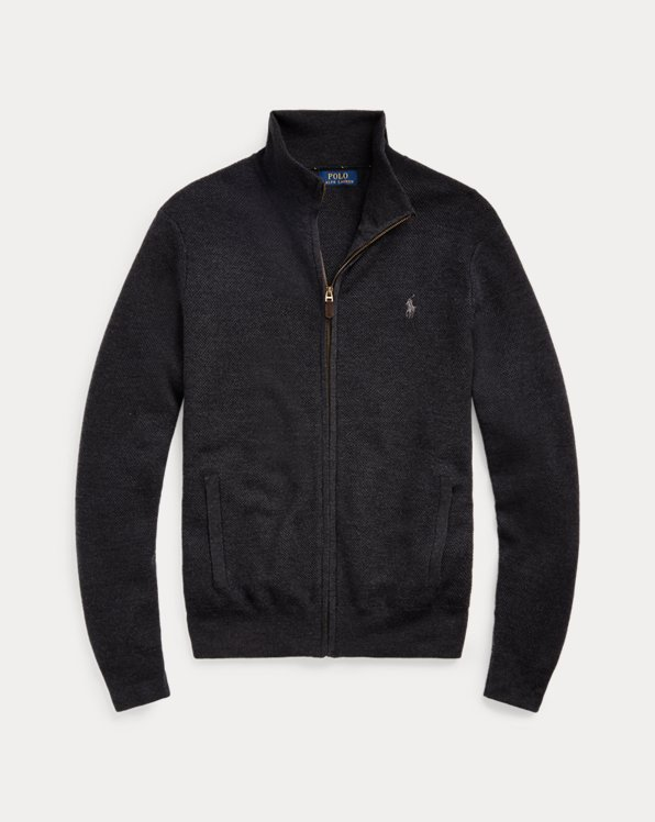 Wool Full-Zip Jumper