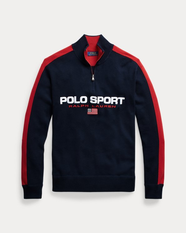 Polo Sport Cotton Jumper