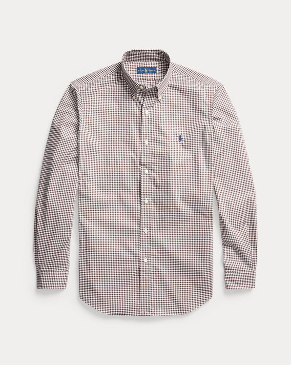 Custom Fit Gingham Shirt