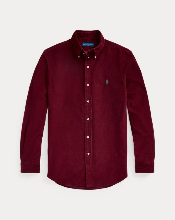 Custom Fit Corduroy Shirt