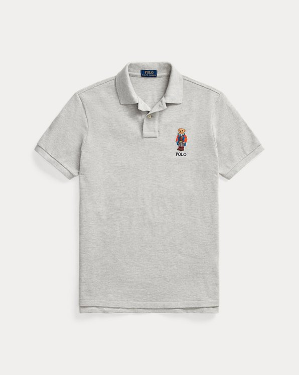 Anorak Bear Mesh Polo Shirt