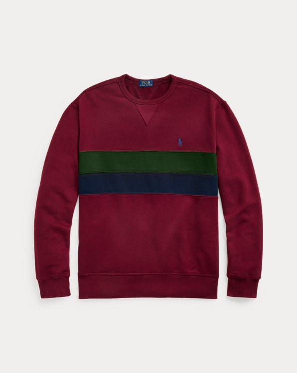 Striped Fleece Sweatshirt