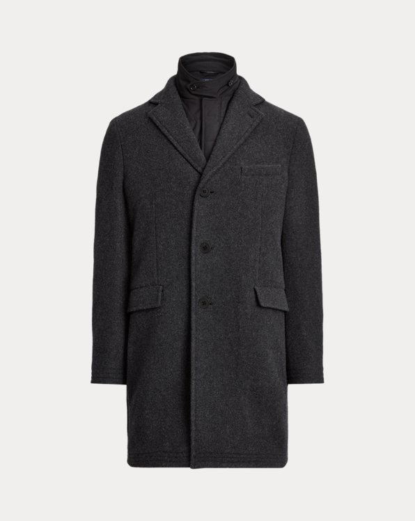 Polo Topcoat & Quilted Waistcoat