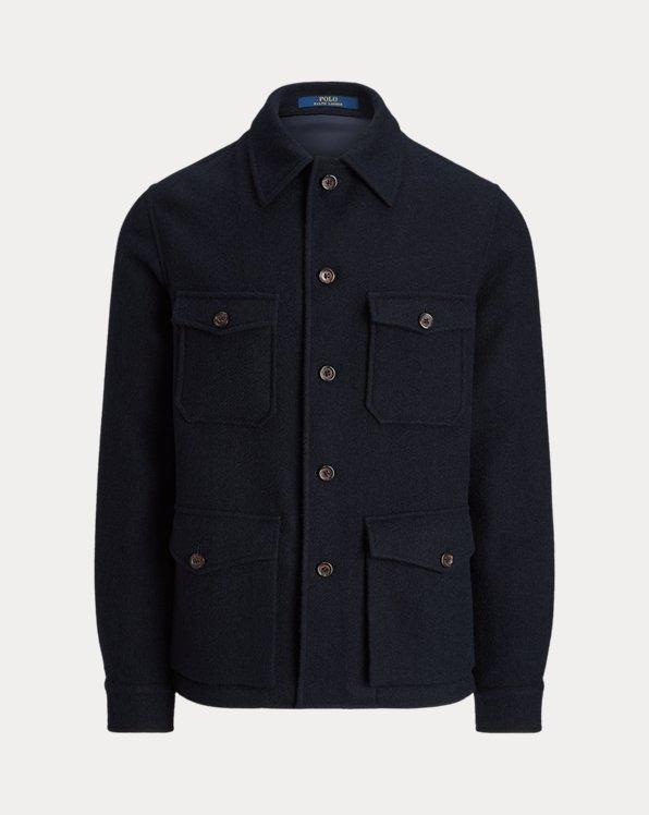 Shetland Wool Utility Sport Coat