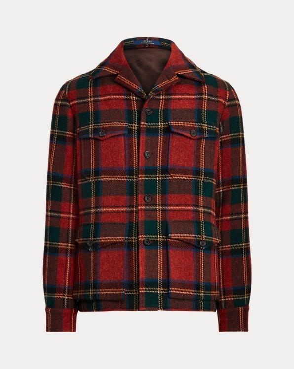 Tartan Wool Tweed Sport Coat