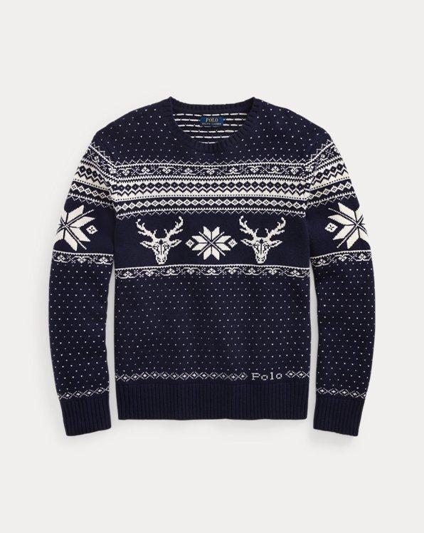 Snowflake Wool-Cashmere Jumper