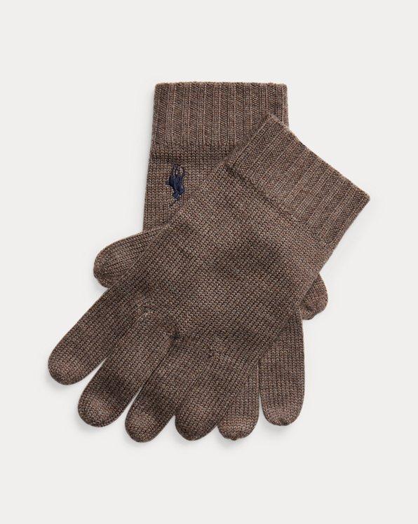 Signature Pony Wool Gloves