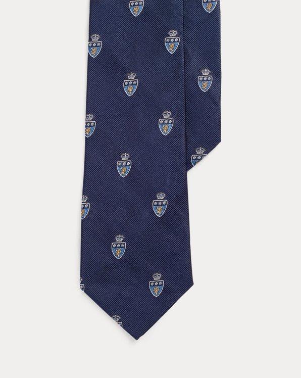 Schmale Club-Krawatte