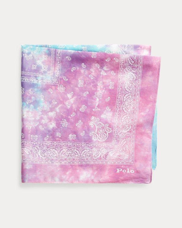 Tie-Dye Cotton Scarf