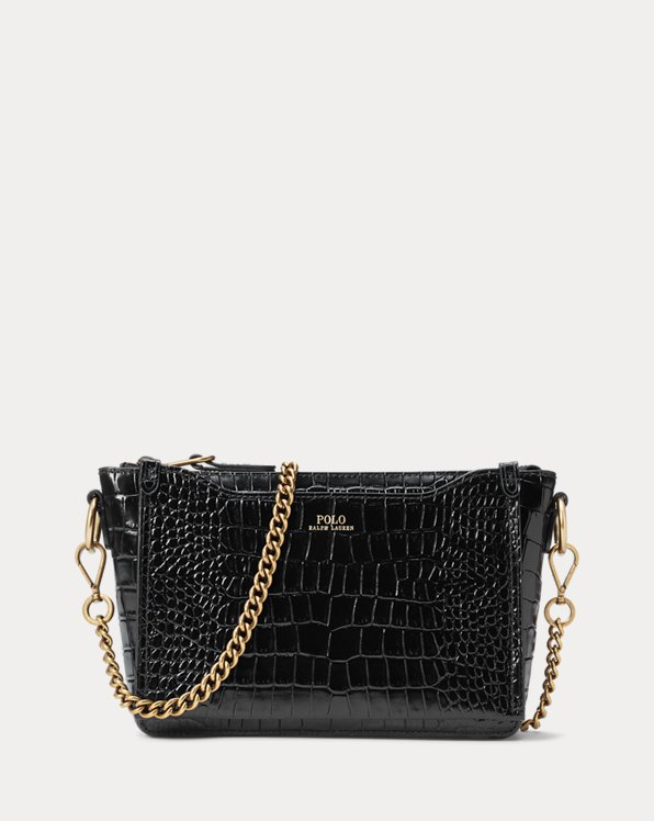 Embossed Mini Sloane Crossbody