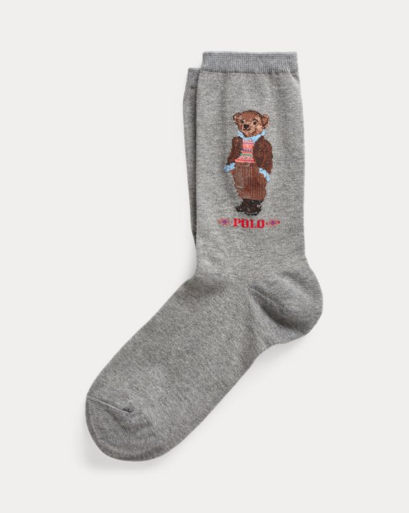 Polo Bear Logo Socks