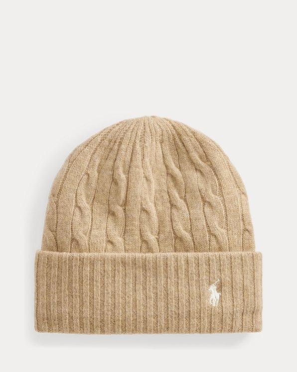 Bonnet torsadé laine et cachemire