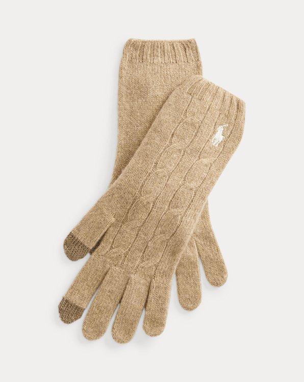 Gants en laine et cachemire