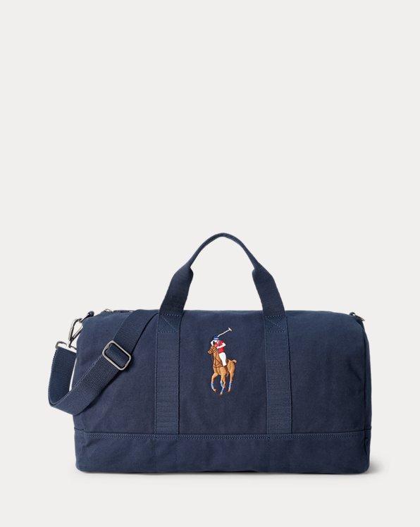 Reisetasche aus Baumwollsegeltuch