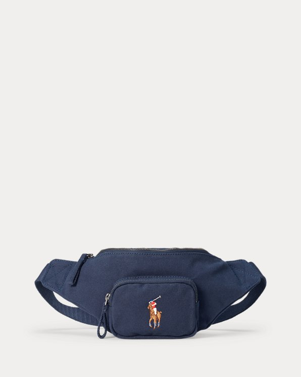 Hüfttasche aus Baumwollsegeltuch