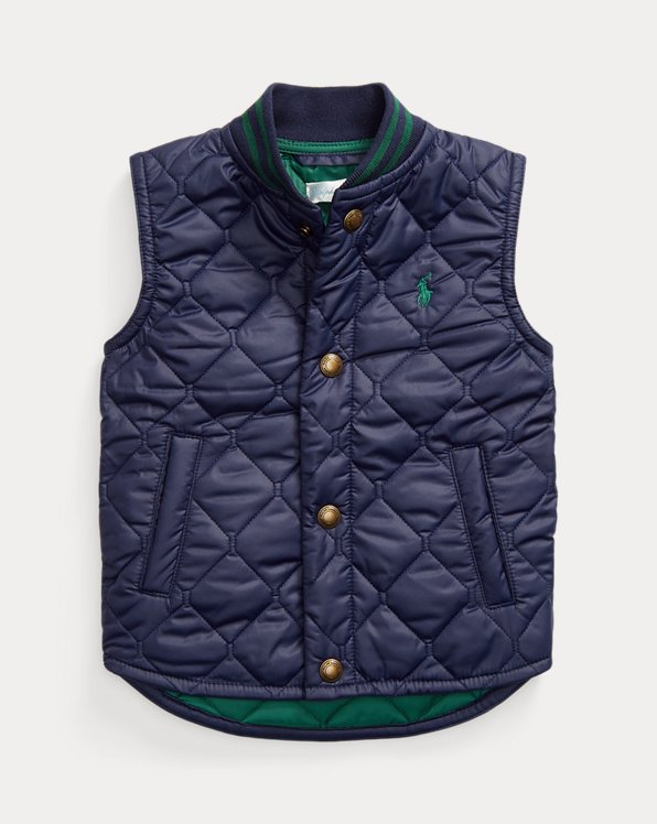 Water-Resistant Quilted Gilet