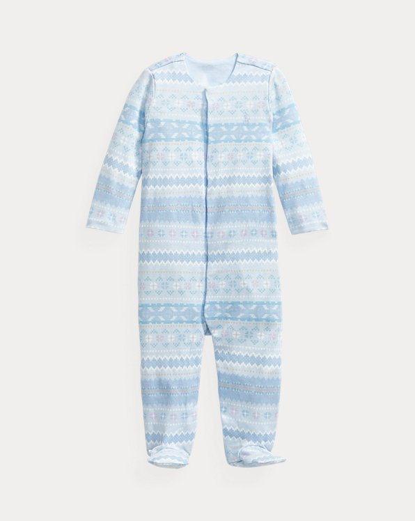 Fair Isle Cotton Coverall