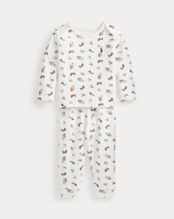 Polo Bear Top & Trouser Set