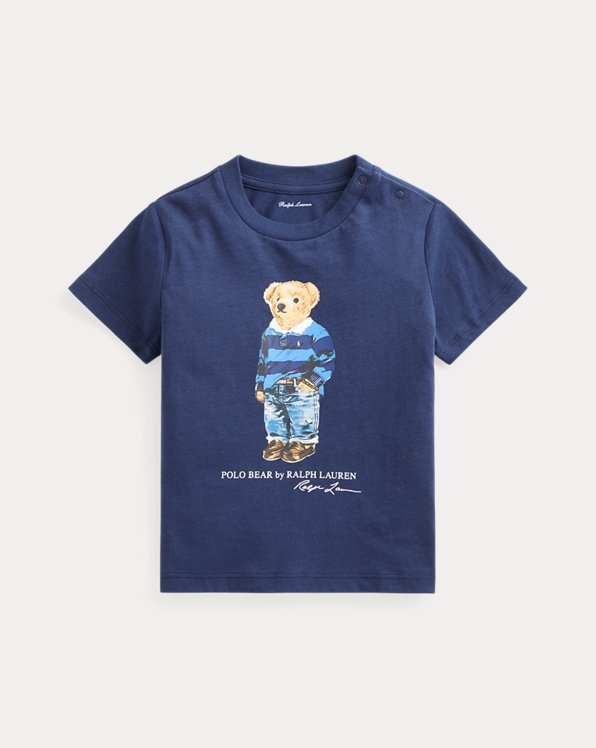 Rugby Bear Cotton Jersey Tee