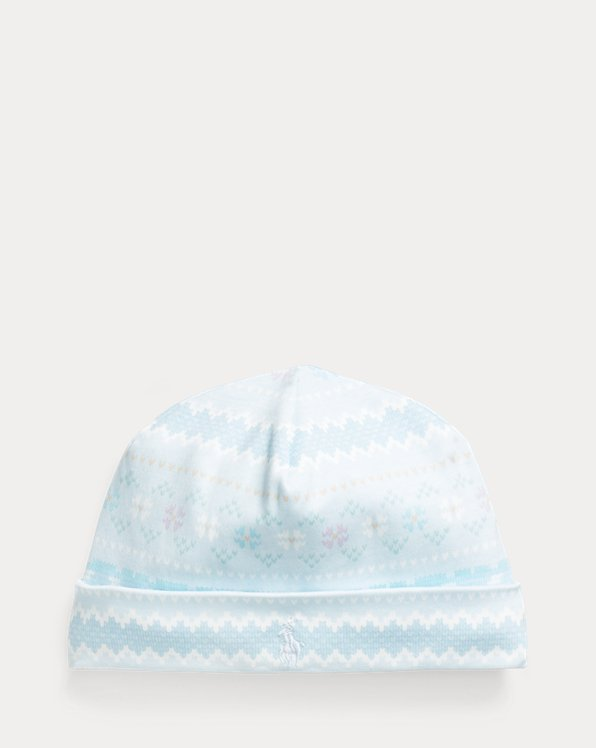 Print Interlock Hat