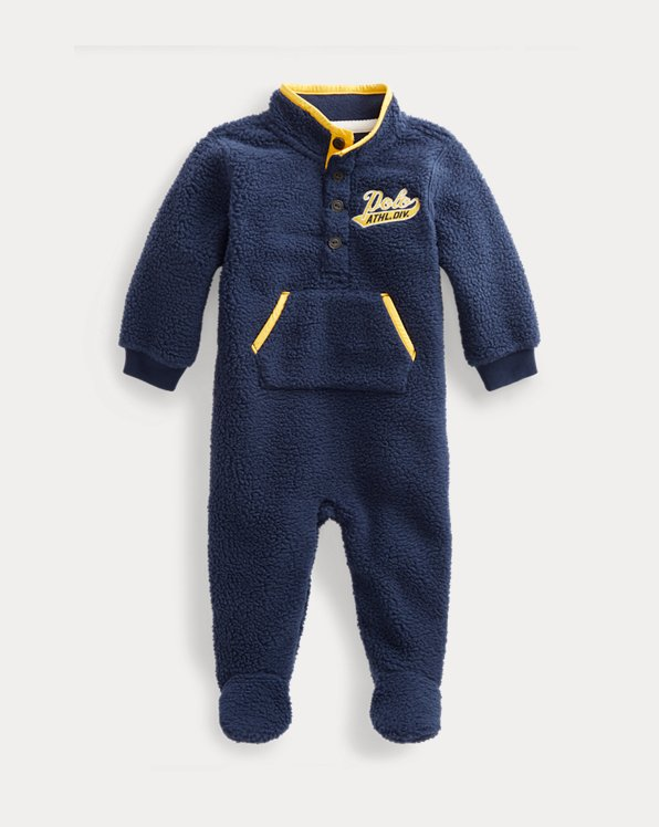 Fleece Footed Coverall