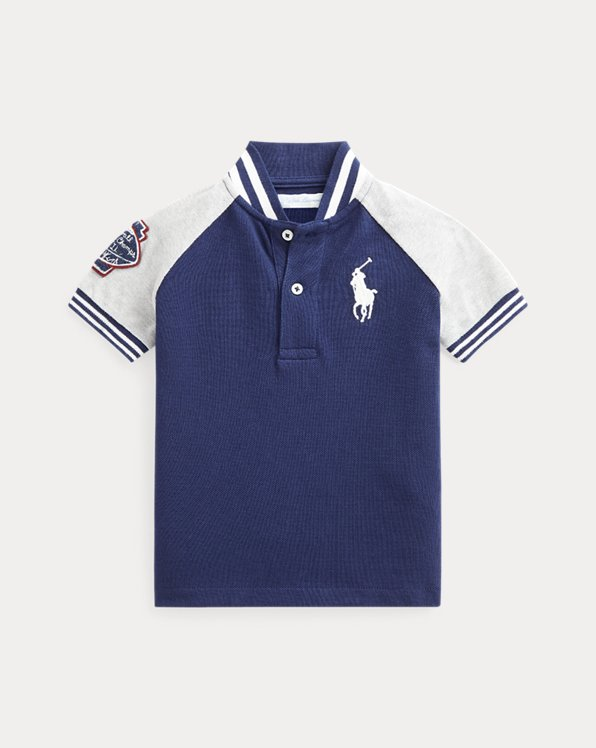 Big Pony Cotton Mesh Shirt