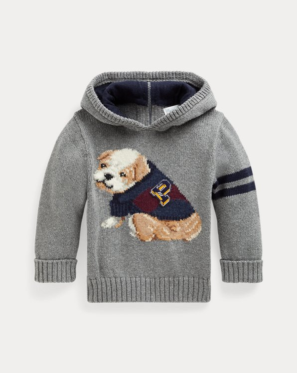 Dog Cotton-Wool Hooded Sweater