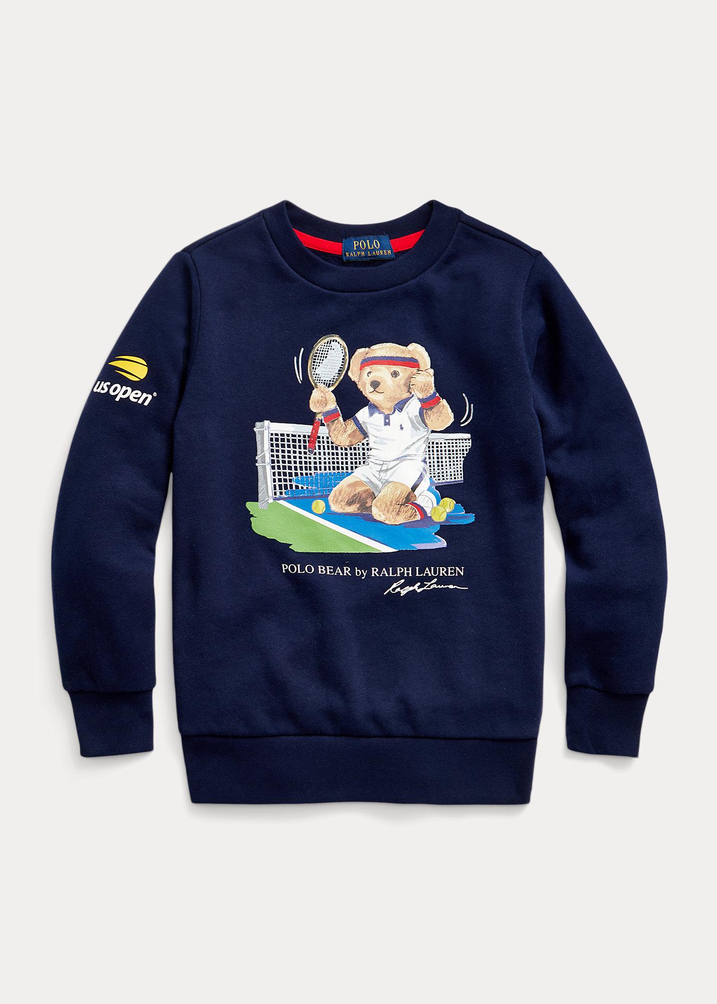 Polo Ralph Lauren US Open Polo Bear Fleece Sweatshirt