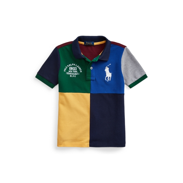 폴로 랄프로렌 남아용 폴로 셔츠 Polo Ralph Lauren Big Pony Cotton Mesh Polo,Classic Wine