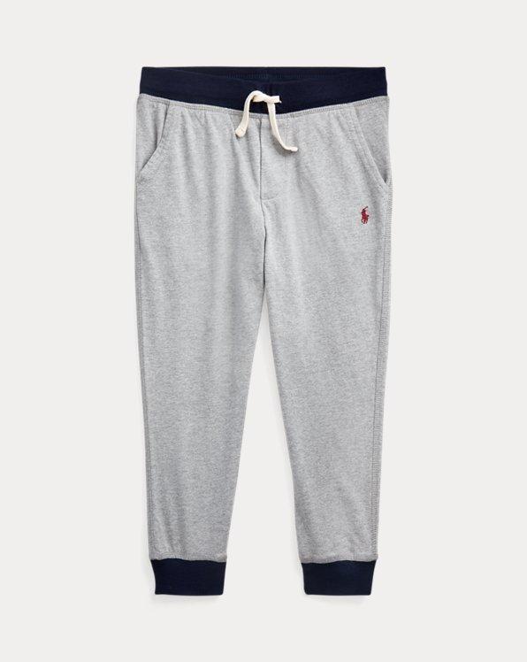 폴로 랄프로렌 남아용 조거 팬츠 Polo Ralph Lauren Cotton Jersey Jogger Pant,League Heather