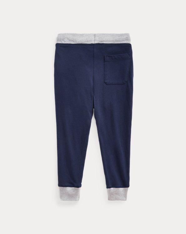 Cotton Jersey Jogger Pant