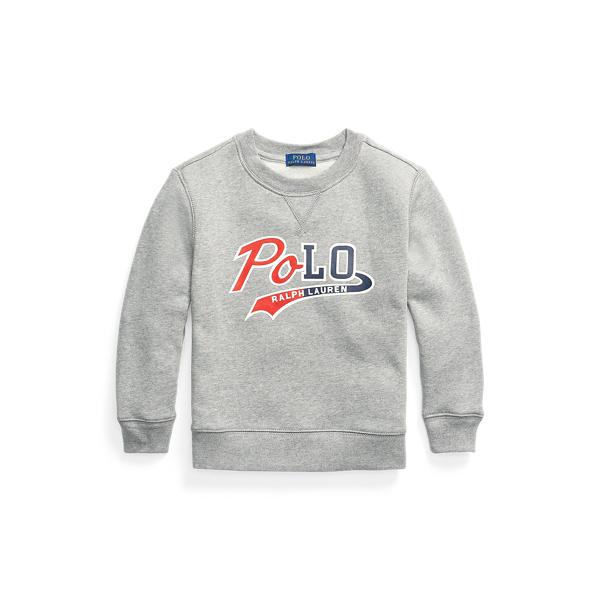 폴로 랄프로렌 Polo Ralph Lauren Logo Fleece Sweatshirt,League Heather