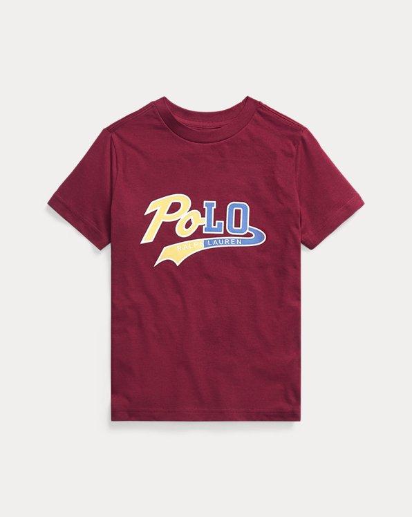 T-Shirt aus Baumwolljersey mit Logo