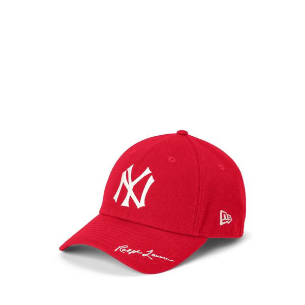 폴로 랄프로렌 남아용 모자 Polo Ralph Lauren Yankees Ball Cap,Ralph Red