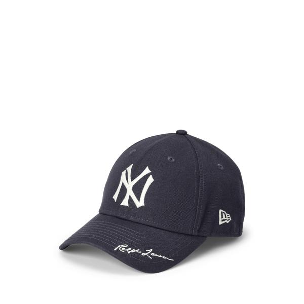 Polo Ralph Lauren Kids' Yankees Ball Cap In Black