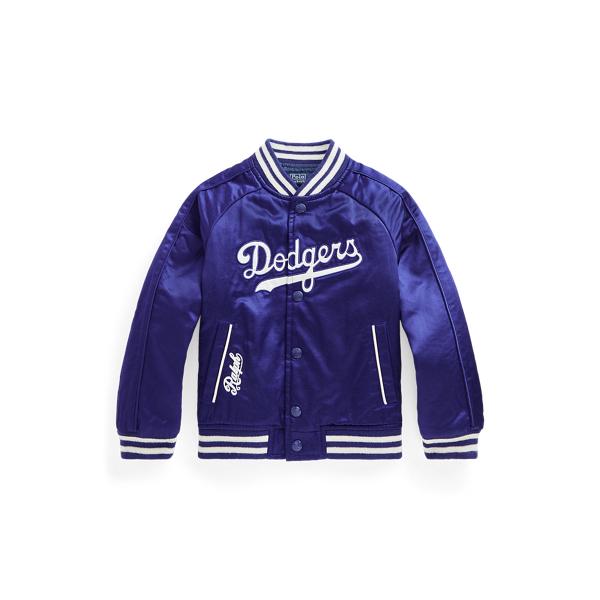 폴로 랄프로렌 남아용 야구 점퍼 Polo Ralph Lauren Dodgers Jacket,Boston Royal/White