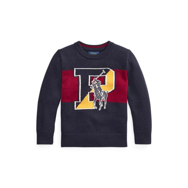 폴로 랄프로렌 남아용 스웨터 Polo Ralph Lauren Big Pony Merino-Blend Sweater,RL Navy
