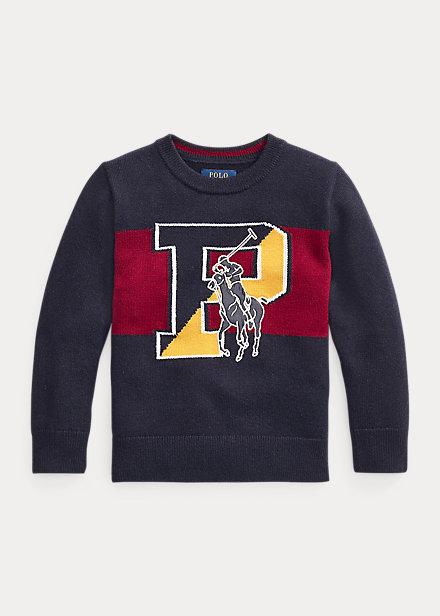 Polo Ralph Lauren Big Pony Merino-Blend Sweater