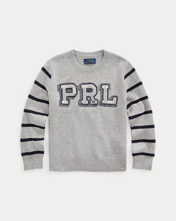 PRL Cotton Crewneck Sweater