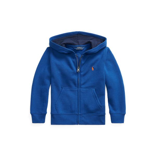 폴로 랄프로렌 Polo Ralph Lauren Cotton-Blend-Fleece Hoodie,Sistine Blue