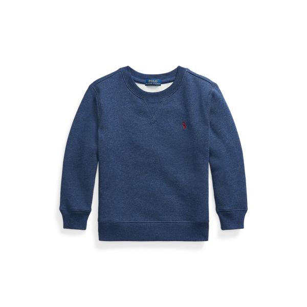 폴로 랄프로렌 Polo Ralph Lauren Cotton-Blend-Fleece Sweatshirt,Fresco Blue Hthr