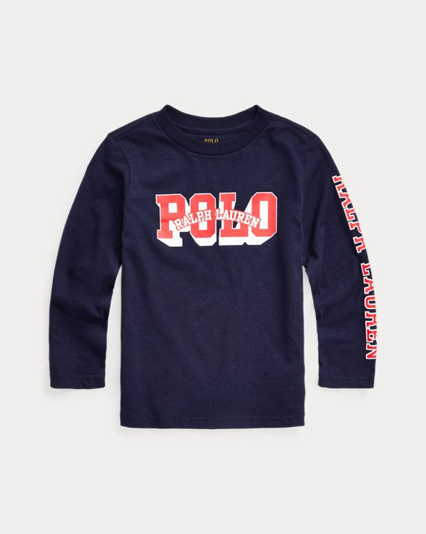 Logo Cotton Long-Sleeve Tee