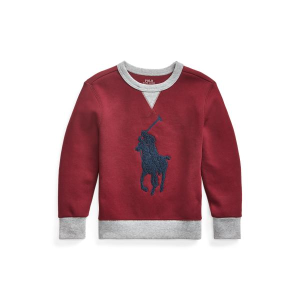 폴로 랄프로렌 Polo Ralph Lauren Big Pony Crewneck Sweatshirt,Classic Wine