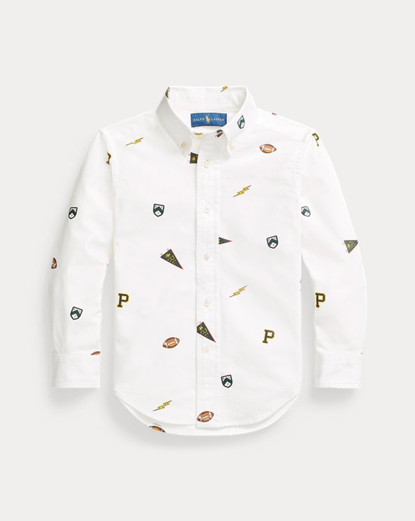 Pennant Cotton Oxford Shirt