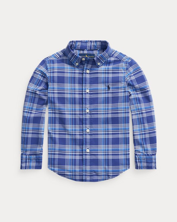 Plaid Performance Poplin Shirt